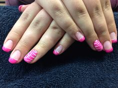 Sam's nails. Gel nail art.