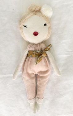 Beautiful Handmade Doll by lespetitesmainsS on Etsy