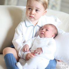 piękne dzieci Williama i Kate , George i Charlotte.