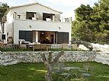 Expensive but glam. Villa in Sumartin, Brac Island, Dalmatian Coast, Croatia. Book direct with private owner. CR557