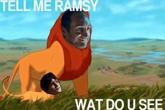 Ramsay  Roose  Bolton. the VERY first things i thought of when i saw this scene in the show!