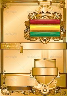 Rastafari Regal Poster Template