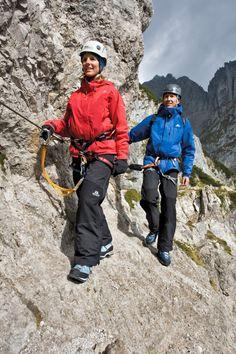 Wilder Kaiser - Jubiläumssteig auf 1.650m (Wochenbrunnalm - Gaudeamushütte - Gruttenhütte)