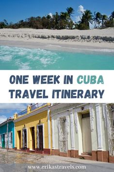 Traveling to Cuba? This 7 day itinerary highlights the best places to visit in Cuba for travelers who only have one week. Tropical Places To Visit, Cool Places To Visit, Places To Travel, Travel Destinations, Cuba Travel, Travel Usa, Travel Tips, Cuba Itinerary, Most Beautiful Beaches