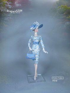 tenue outfit + accessoires pour fashion royalty barbie silkstone vintage #1710   eBay