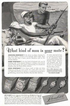 vintage ad, Hamilton