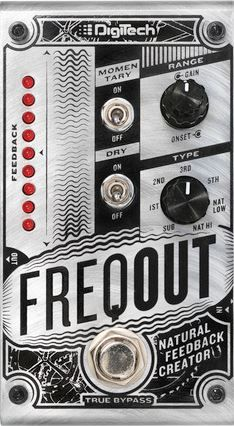 Digitech - Freqout Natural Feedback - Van De Moer Instruments