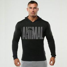 Hot Sale Bodybuilding Hoodies Men Animal Gyms Sweatshirts Long Sleeve Cotton  Sportwear Fitness Pullover Muscle Tops //Price: $22.48 & FREE Shipping //     #hashtag4