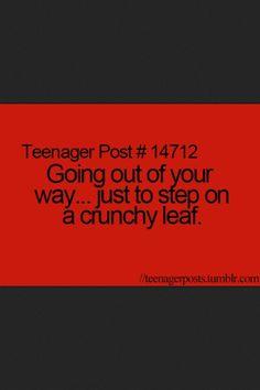Teenager Post.
