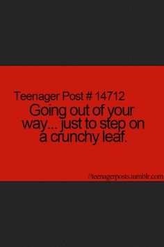 Teenager Post.