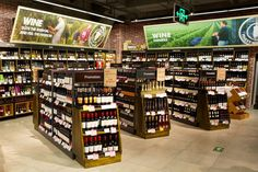 Group rkd retail/iQ is professionals dancing to the same beat, your retail business. We believe retail people are born, not made. Wine Shop Interior, Shop Interior Design, Store Design, Wine And Liquor Store, Wine And Spirits Store, Beer Store, Store Signage, Retail Signage, Wine Shelves