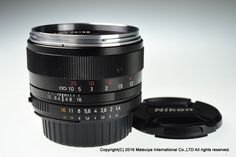 Carl Zeiss Planar T* 50mm f/1.4 ZF.2 for Nikon Excellent #Zeiss