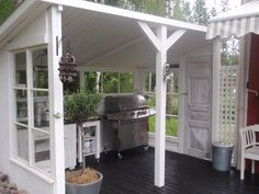 Idea: Grill in the summer kitchen