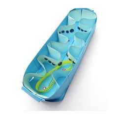 Make an enormous model of a mitochondrion today! The Mega Mitochondrion model makes a large 30cm/12in long model of a mitochondrion. Big enough to use for demon
