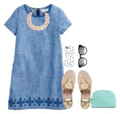 """""""☀️SUN☀️"""" by m-scanlon ❤ liked on Polyvore featuring DIANA BROUSSARD, Jack Rogers, Casetify, Vera Bradley and CÉLINE"""