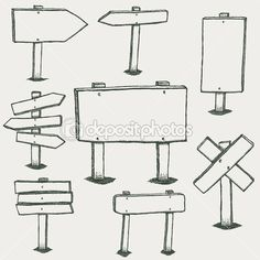 Illustration about Doodle wood signs, hand drawn wooden direction arrows vector set. Sketch wooden arrow, illustration of frame wooden plank. Illustration of drawing, direction, banner - 89114523 Bullet Journal Ideas Pages, Bullet Journal Inspiration, Bullet Journals, Banners, Arrow Illustration, Bujo Doodles, Sketch Notes, Doodle Drawings, Wood Signs