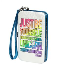 Unicorn Small Tech Wristlet | Girls Fashion Bags & Totes Accessories | Shop Justice