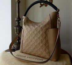 Louis Vuitton Bagatelle in Monogram Empreinte Dune >Pinterest: @jordanlanai