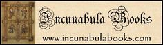 "Incunabulum \In`cu*nab""u*lum\, n.; pl. Incunabula. [L. incunabula cradle, birthplace, origin.]   A work of art or of human industry, of an early epoch; especially, a book printed before a. d. 1500.   Source: Webster's Revised Unabridged Dictionary, © 1996, 1998 MICRA, Inc"