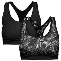 812c92ee3901e Champion 2 Pack Sports Bra with Removable Foam Cups
