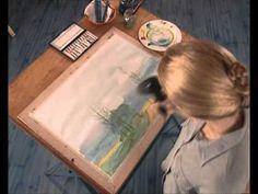 ▶ Curso practico de dibujo - acuarela, trabajo con veladuras - YouTube