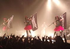 Concert in Berlin #菊地最愛 #MOAMETAL #中元すず香 #SUMETAL #水野由結 #YUIMETAL #BABYMETAL