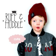 new brand :: ruff & huddle AW13 collection #kids #boys #new #autumn
