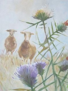 Tessa Newcomb English Artists, British Artists, Ink In Water, Midsummer Nights Dream, Woodland Creatures, Whimsical Art, Botanical Art, Pet Birds, Sheep