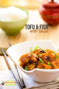 Tofu and Fish with Tausi Peterson King Soileau with Ray Tilapia Recipes, Tofu Recipes, Seafood Recipes, Asian Recipes, Cooking Recipes, Healthy Recipes, Ethnic Recipes, Healthy Cooking, Healthy Eating