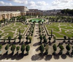 "The gardens at Versailles - absolutely indescribable!  No photos do it justice, but it's at least a reminder! I led a trip to Paris and London areas - including Versailles in March 2008 with students, faculty, and friends from town! AND my daughter, Lacey! I also went to an EF ""Training"" session in Paris in Aug/Sept of 2007. Having dreamed of seeing this palace, I spent several hours sitting out on the grounds journaling and imagining myself a lady-in-waiting!"