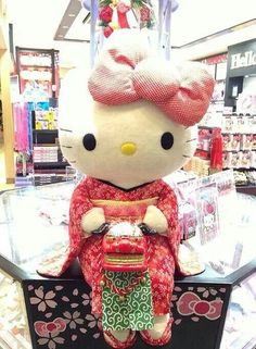 Hello kitty only in japan