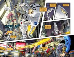 """After teasing fans for a few months, Amy Reeder and Brand Montclare's Rocket Girl is go for launch...a """"teenage cop from a high-tech future"""" who's sent back to 1986...""""As she pieces together the clues, she discovers that the 'future' — an alternate reality version of 2013 and the place she calls home — shouldn't exist at all""""...I spoke with Montclare and Reeder about Rocket Girl, using Kickstarter to finance their creator-owned works and much more."""