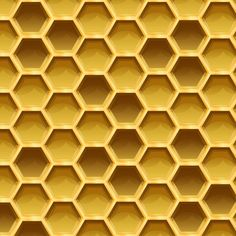 Create a Sweet Honeycomb Pattern in Adobe Illustrator #backgroundpattern #geometricpatterns #patterntutorials