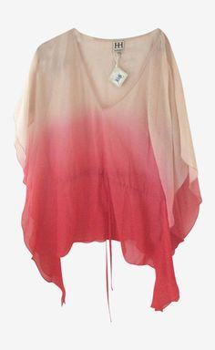 Haute Hippie Light Pink And Red Top | VAUNTE