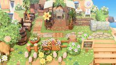 Vines, Motif Acnl, Mawa Design, Animal Crossing Game, Stone Path, Island Design, New Leaf, Game Art, Paths