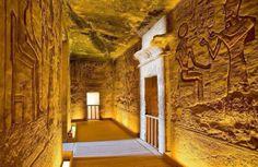 Interiors Of Abu Simbel