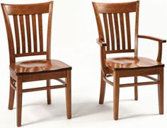 33% OFF Amish Furniture - Hand Crafted Shaker and Mission Furniture Online Outlet Store: Harper Chair: Oak