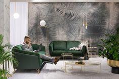 #kler #meblekler #klermeble #klerdesign #designkler #excellence #klerexcellence #wnętrza #Gondoliere #green #zieleń #zielonyakcent #złoto #gold #new  #sofa #salon #projektowanie #design #meble #dom #komfort #jakość #quality #wypoczynek #styl  #style #modern #relaks #relax #furniture #furnituredesign #interior #interiordesign #home  #dom #dodatki #dekoracje #homedecor #stolik #stolikkawowy #coffeetable Sofa, Couch, Eames, Teak, Lounge, Living Room, Chair, Green, Furniture