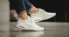 Männer Nike Air Max Thea Grey Mist Txt Hers trainers Luxus