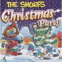 Smurfs Christmas Party