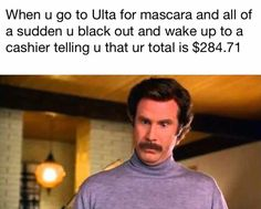 When you have a makeup addiction and help it! Makeup Mac lipstick ultra meme