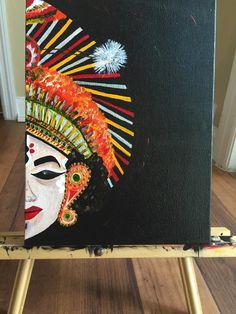 Paintings by Vranda Phadke - Yakshagana | Dancers in 2019 ...