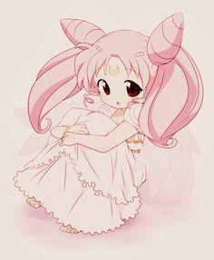 Sailor Moon | Sailor Chibi Moon | Chibiusa | Princess Lady Serenity | Black Lady | Anime | Fanart | SailorMeowMeow