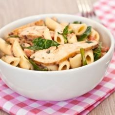 A BBQ Chicken Pasta Salad Recipe with under 220 calories per serving, low carbs, and high protein. A perfect summer picnic recipe! Antipasto Pasta Salads, Chicken Pasta Salad Recipes, Recipe Pasta, Chicken Salad, Dash Recipe, Cocktails, Heart Healthy Recipes, Cooking Recipes, Healthy Recipes