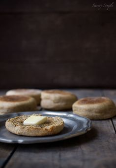 Wondering how to make english muffins? These homemade whole wheat english muffins have so much more flavor than store versions. They also have an incredibly satisfying, crunchy exterior. Whole Wheat English Muffin, English Muffin Recipes, English Muffins, Real Food Recipes, Cooking Recipes, Yummy Food, Easy Cooking, Bread Recipes, Bagels