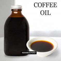 DIY homemade coffee oil