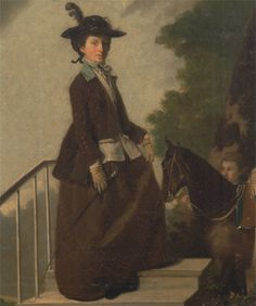Henry Walton, 1746–1813, British, Elizabeth Bridgman, Sister of the Artist, between 1771 and 1775, Oil on canvas, Yale Center for British Art, Paul Mellon Collection