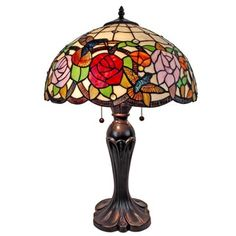 Shop for Amora Lighting AM101TL16 Tiffany Style Hummingbird Table Lamp 24 In. Get free shipping at Overstock.com - Your Online Home Decor Outlet Store! Get 5% in rewards with Club O! - 17881469
