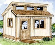 tool sheds | Tool Shed Plans – Construct Your Own Shed Workshop | Cool Shed ... #diyshedplans