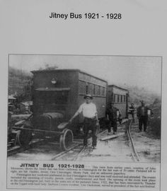 Jitney Bus--Barbour Co, WV--the miner's rode it to work--IMWVCT